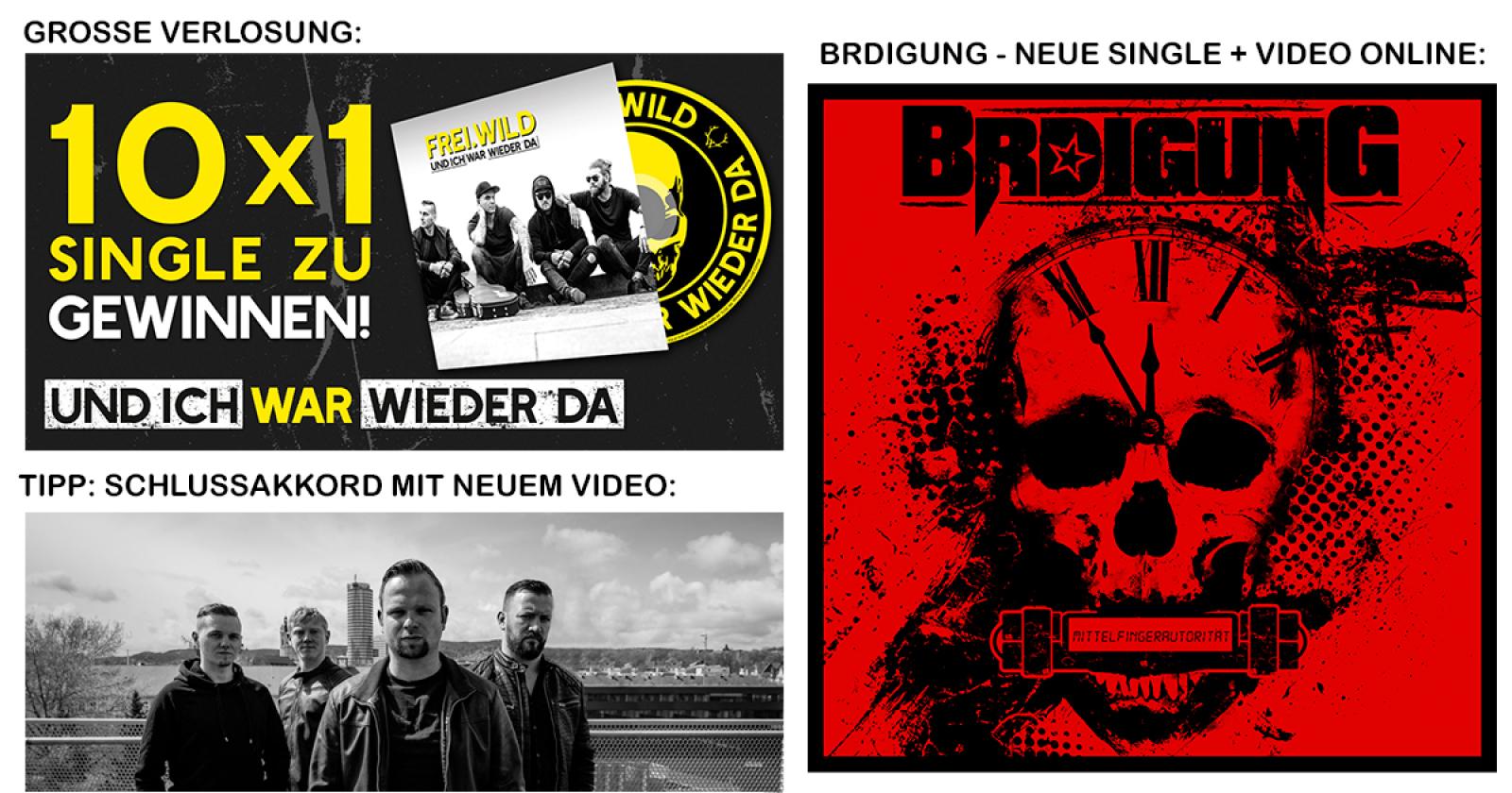 Newsletter 29012018 Brdigung 3single Video